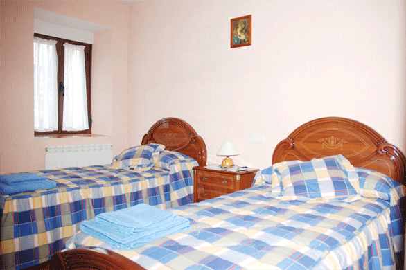 Dormitorio de la Casa Rural Los Laureles