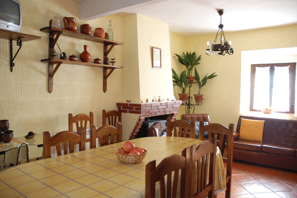 Interior de la Casa Rural Los Laureles