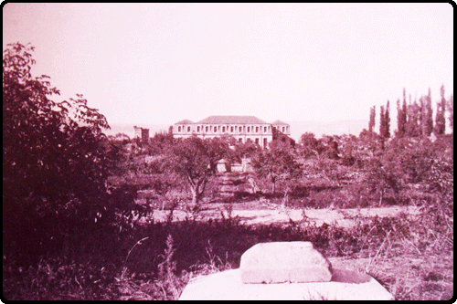 The Gardens of the Palace around 1920